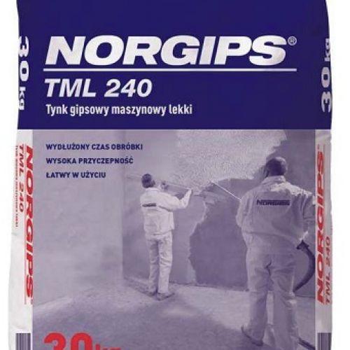 NORGIPS TML 240 vieglais ģipša mašīnapmetums 30kg