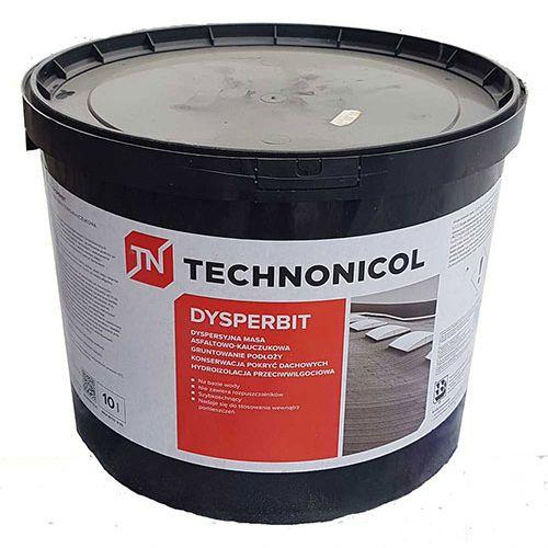 Technonikol Dysperbit mastika uz ūdens bazes, 10kg