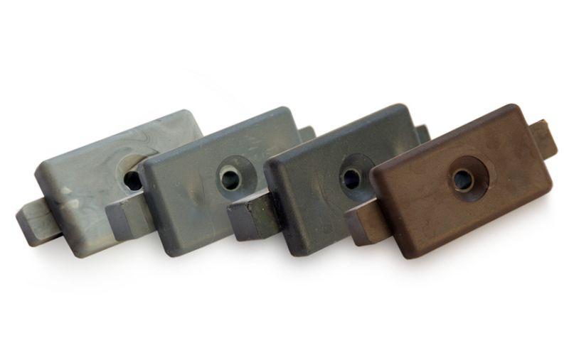 Terases dēļi, Plastmasas ECO FIX stiprinājums WPC dēlim (melns)