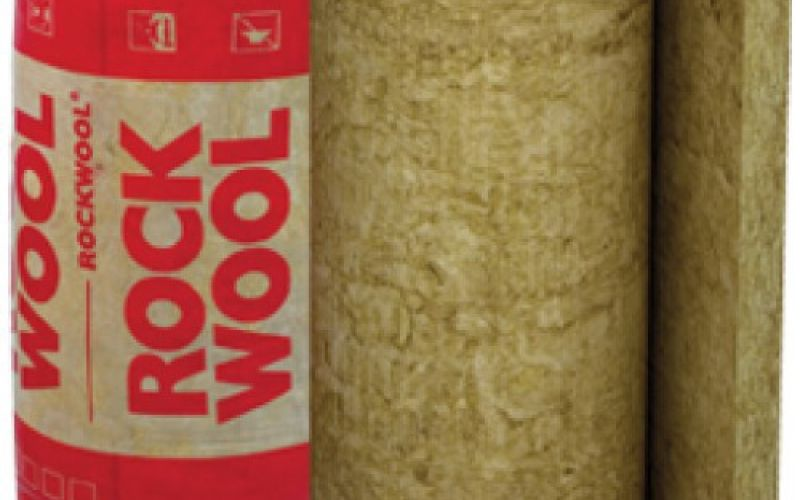 ROCKWOOL Multirock Roll (Rock-roll) Akmens vate ruļļos 100mm 9m2