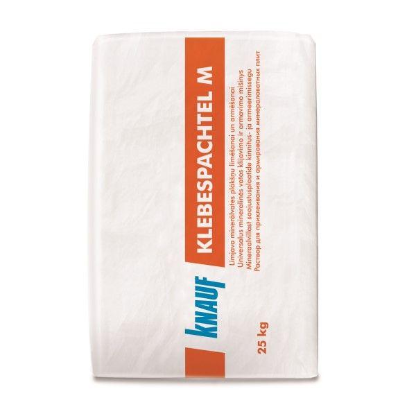 KNAUF Klebespachtel M . Līmjava mineral wool insulation slab sizing and armēšanai