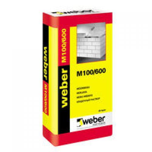 WEBER M 100/600 mūrjava 25kg