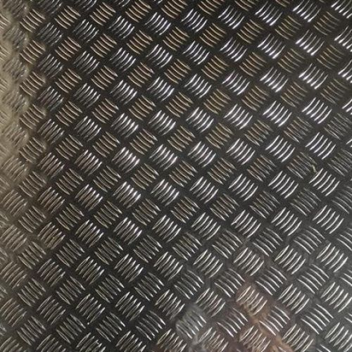 Alumīnija loksne, riflēta 5/7x1250x2500 ALMG3