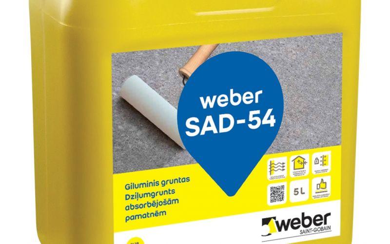 WEBER (Vetonit) SAD-54 universāla grunts 5L