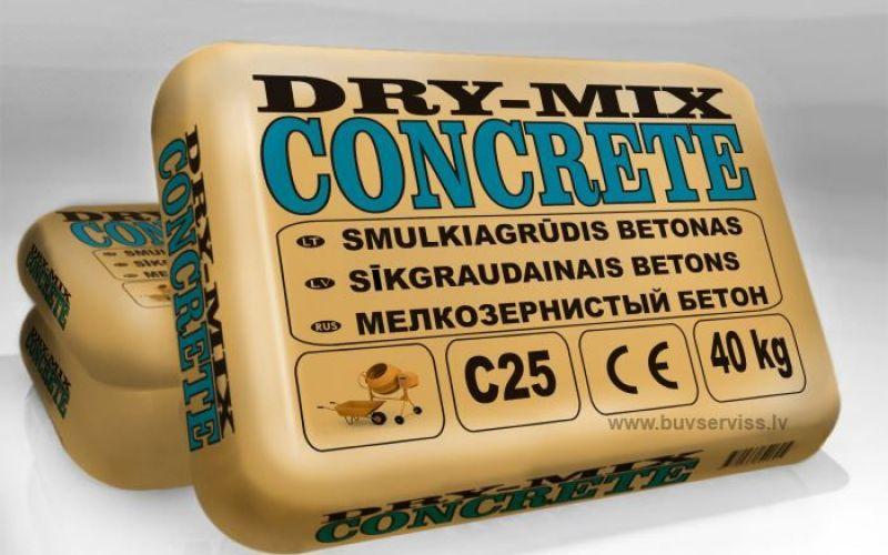 Dry-Mix CONCRETE STIMELIT 40kg (sausais betons)