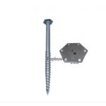 Terases metāla (cinkots) skrūvpālis M12, 76 x 1000 * 3mm
