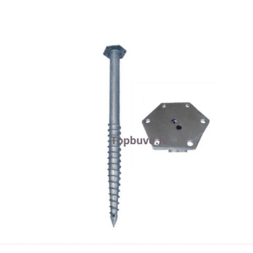 Terases metāla (cinkots) skrūvpālis M 76 x 1200 * 2.5mm