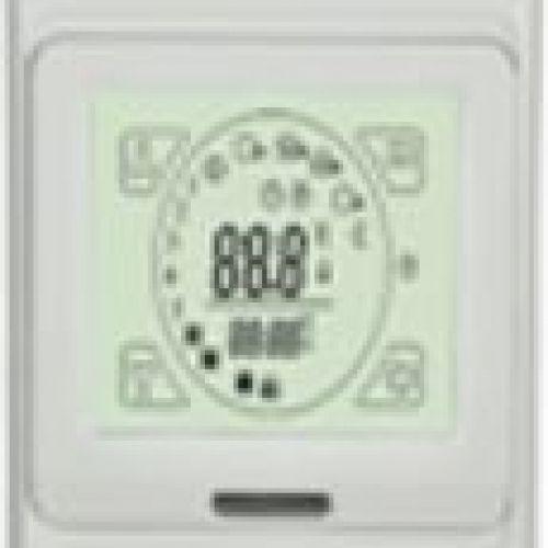 Termoreg. UFCE91 (5..40°C) 15A skārien jūt. displ. + grīdas sens., progr. (zemapmetuma)