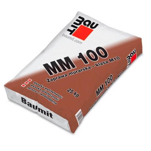 BAUMIT MM 100 mūrjava 25kg