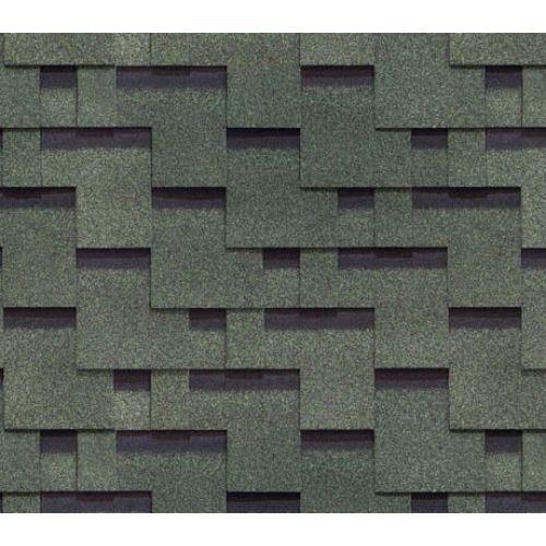Bitumena šindeļi Docke Matrix Zaļš