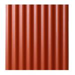 Eco Dach bezazbesta šīferis M 1000x1130mm krāsots, sarkana
