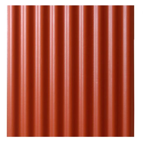 Eco Dach bezazbesta šīferis L 1750x1130mm sarkans