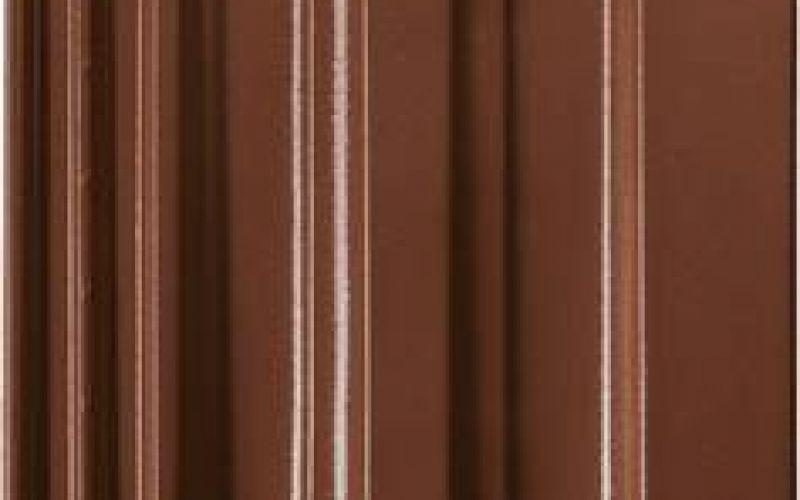 Monier Granat 13V, rindu dakstiņš, glazēts, kastaņbrūns