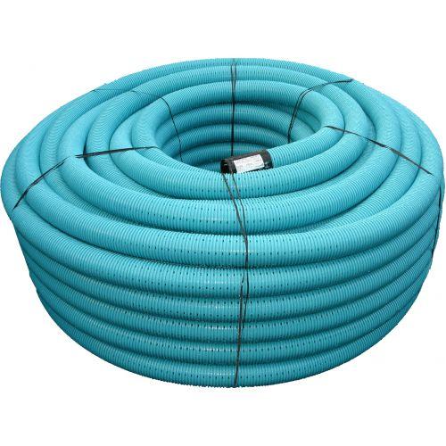 Pipelife drenāžas caurule bez filtra, rullī 50m Ø160/145mm