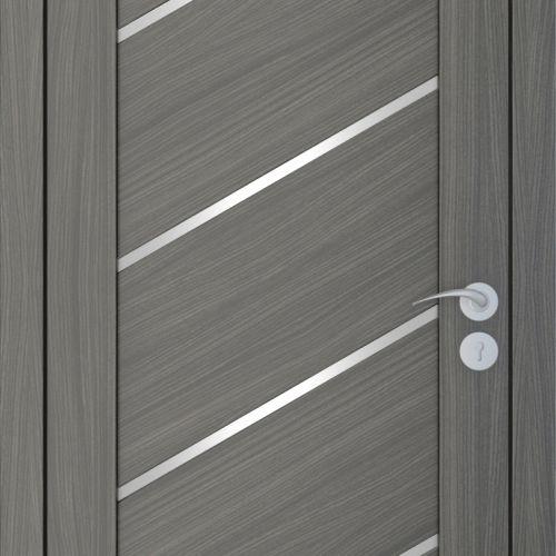 Durvis ar ECO-Finierējumu Diagonal Krāsa-Ozols Neapolis 80x200cm