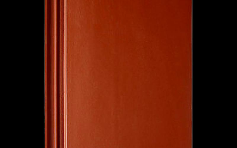 Monier Turmalin rindu dakstiņš, angobets, sarkans