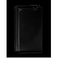 Monier Turmalin rindu dakstiņš, glazēts, melns