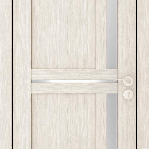 Durvis ar ECO-Finierējumu MIX-3 Krāsa-Kapučino 90x200cm