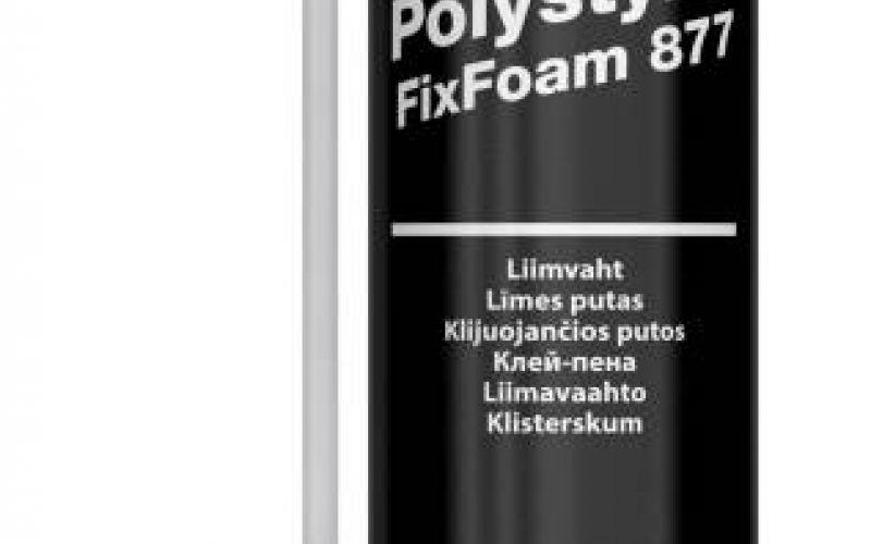 PENOSIL Premium Polystyrol FixFoam 750ml ar trubiņu