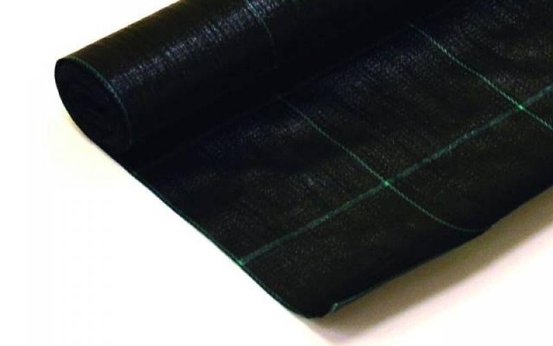 Agroplēve PP Ground Cover 100 austa, melna, 210cm, 52.5m2