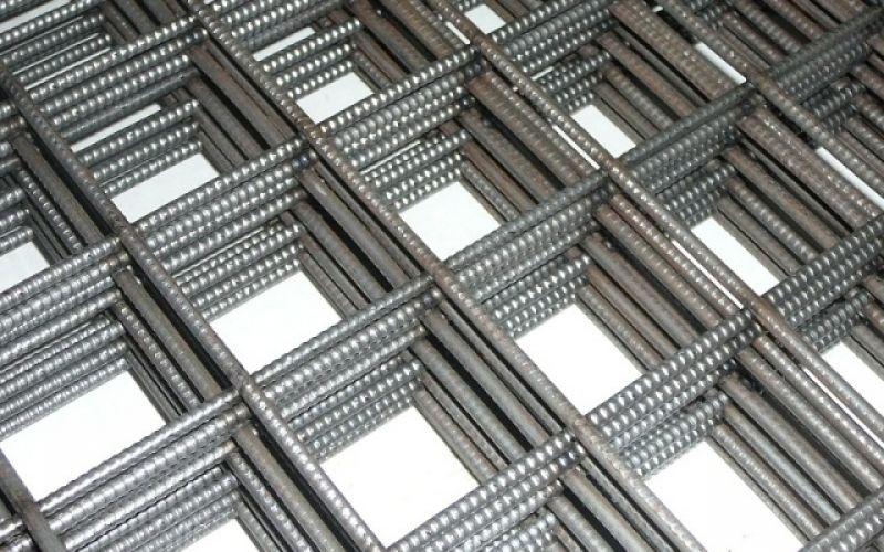 Armatūras siets 5x200x200 grīdu betonēšanai