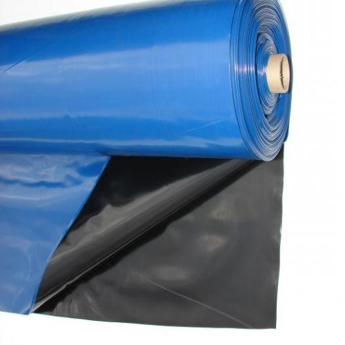 Baseina plēve 0,3mm 600cm, 42m2 zila-melna