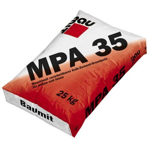 Baumit MPA 35 Kaļķa apmetums ārdarbiem, 25kg