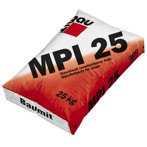 Baumit MPI 25 Kaļķa apmetums iekšdarbiem, 25kg