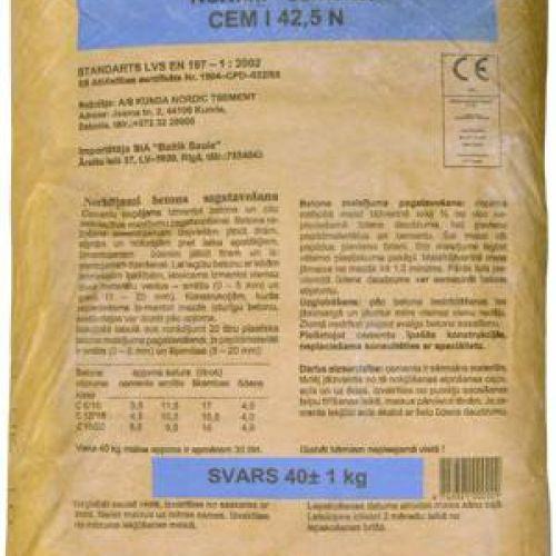 CEMEX CEM I 42,5N (M500) Cements (Brocēnu) 35kg