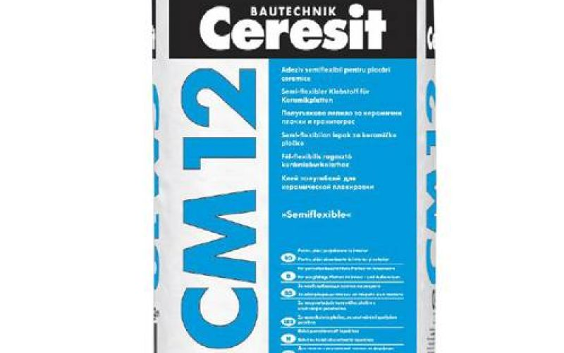 Ceresit CM12 flīžu līme ar paaugstinātu elastību 25kg