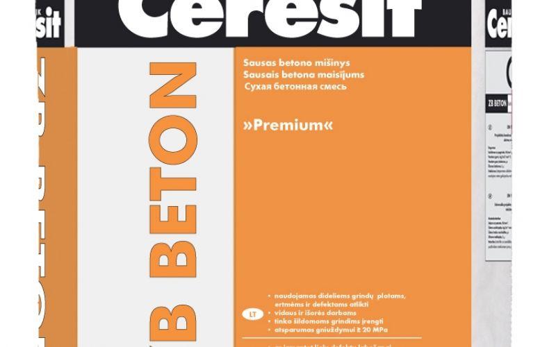 Ceresit ZB BETONS premium sausā betona java 25kg
