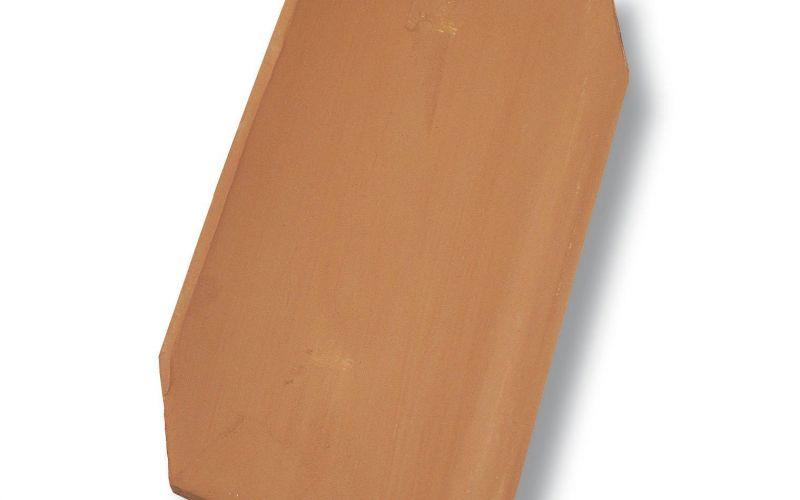 Monier Dantegl, rindu dakstiņš, viscaur krāsots, ķieģeļsarkans