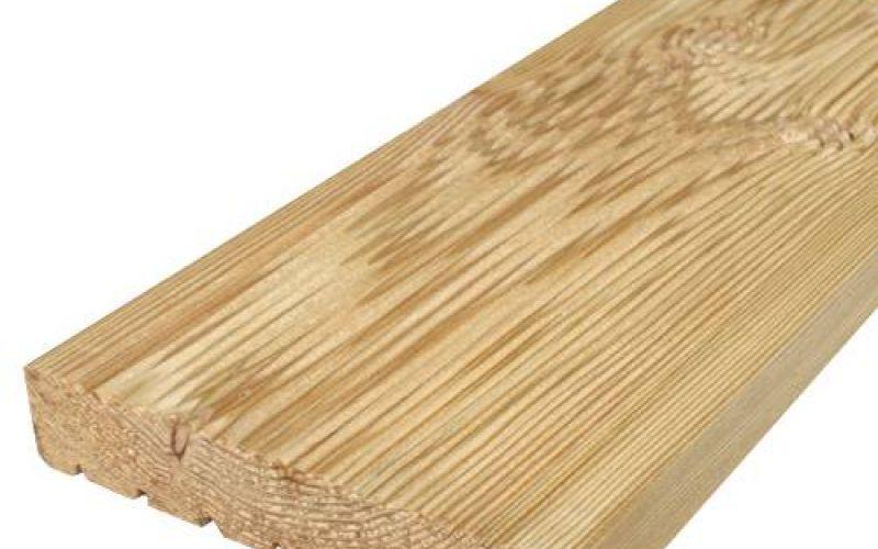 Sibīrijas lapegles A kvalitāte terases dēļi 28x143mm, 5m