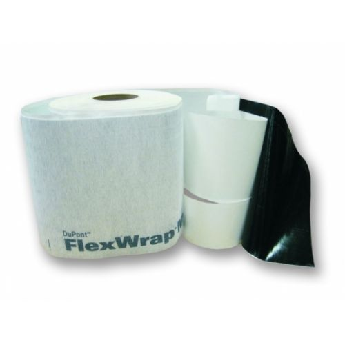 DuPont FlexWrap NF Elastīga pašlīmējoša lokana lente, ārdarbiem, 152 mm, 23m