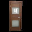 Durvis GRAND SV Tumšais rieksts 400x2000x36 mm