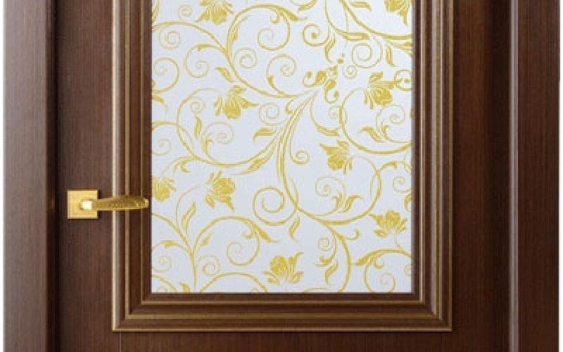 Frančeska zelts stiklots 900x2000x75mm