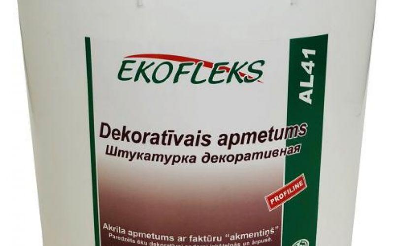 """AL41 EKOFLEKS - Dekoratīvais apmetums ar faktūru """"akmentiņš"""""""