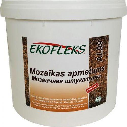 AL99 серия M EKOFLEKS - Мозаичная штукатурка с натуральным мрамором 1.8mm