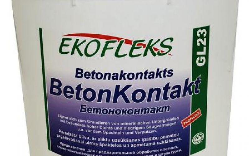 GL23 EKOFLEKS - Beton-kontakts 10kg