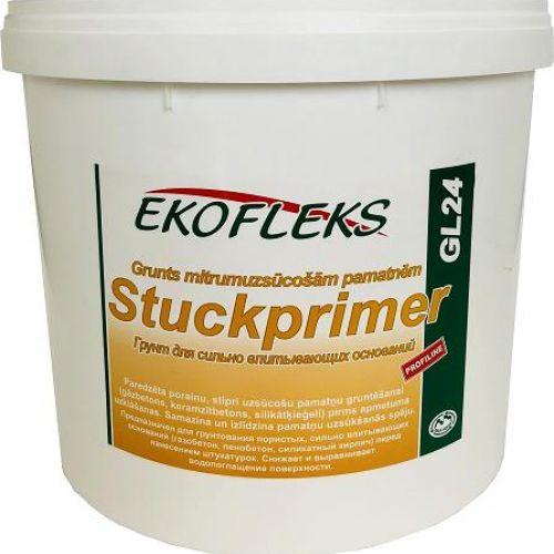 GL24 EKOFLEKS - Grunts mitrumuzsūcošām pamatnēm Stuckprimer