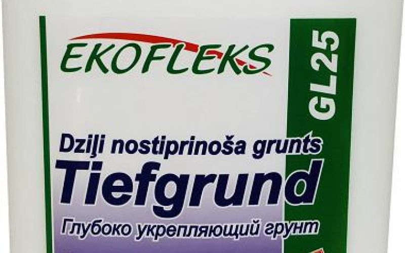 GL25 EKOFLEKS - Deep-fortifying the bottom