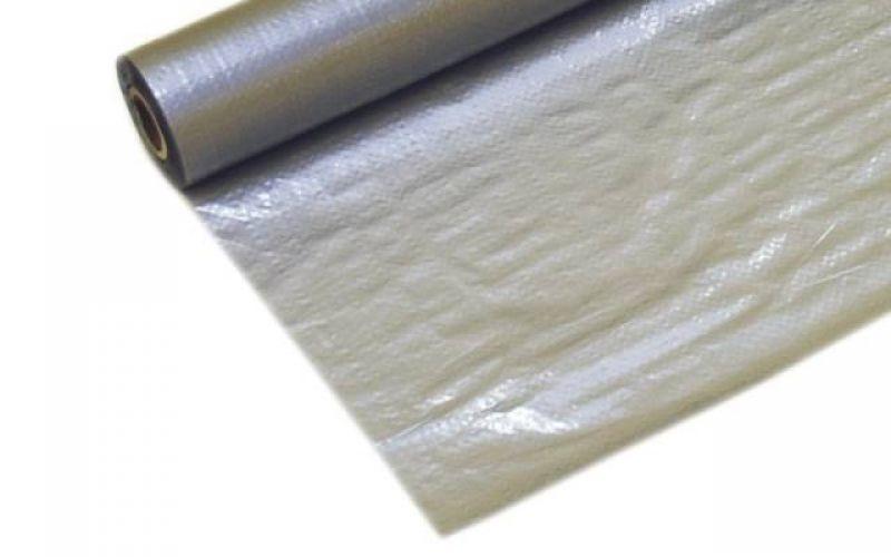 ELKATEK SILVER Perforated Armētā polietilēna plēve-starplika, 150cm, 75m2