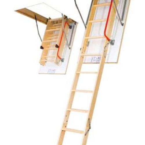 FAKRO bēniņu kāpnes KOMFORT LWK-280 trīsdaļīgas
