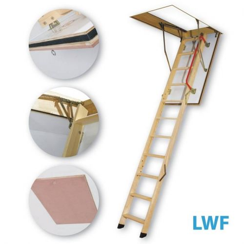 FAKRO bēniņu kāpnes LWF-305 trīsdaļīgas Uz pasūtījumu