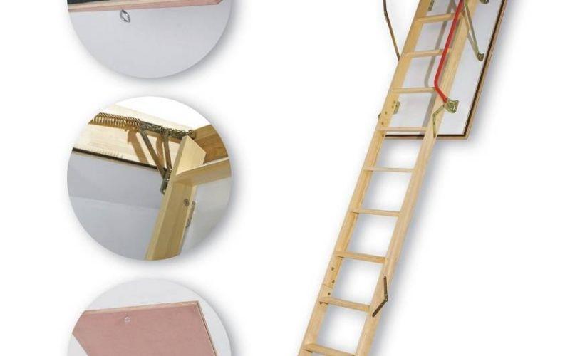 FAKRO bēniņu kāpnes LWF-280 trīsdaļīgas Uz pasūtījumu