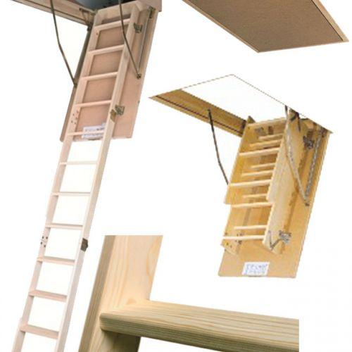FAKRO bēniņu kāpnes SMART LWS-280 trīsdaļīgas
