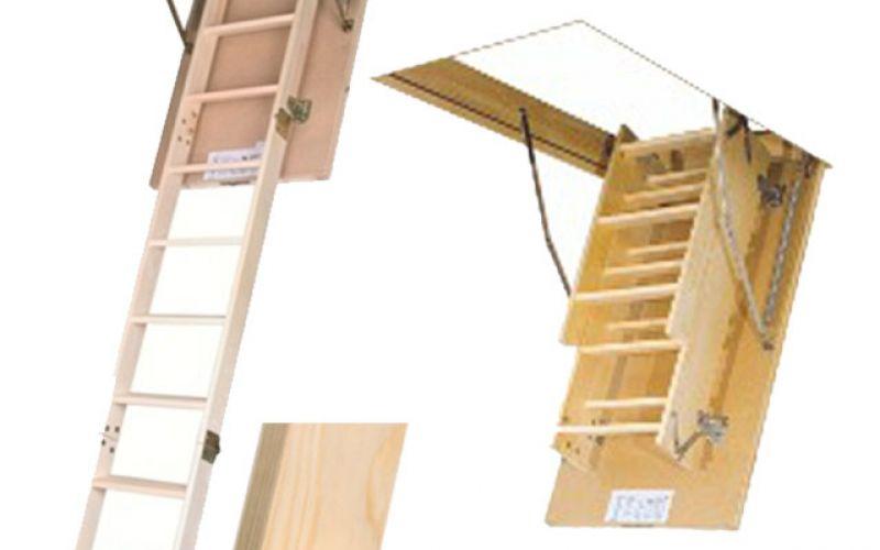 FAKRO bēniņu kāpnes SMART LWS-305 trīsdaļīgas