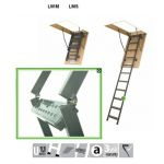 FAKRO Metal attic ladder SMART LMS-280 trīsdaļīgas To order