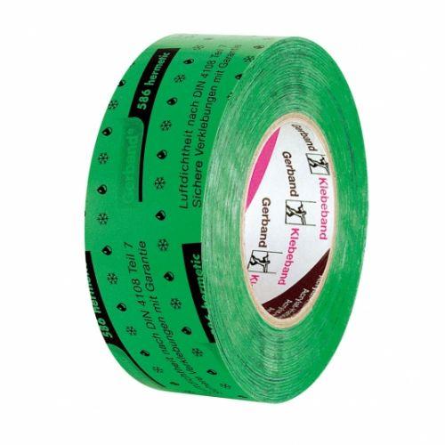 Gerband Inside Green Tape (585) vienpusēja, armēta akrila lenta tvaika izolācijai, iekšdarbiem, 60mm, 25m
