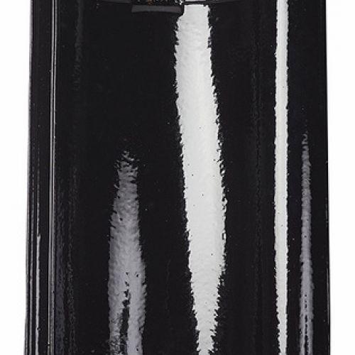 Monier Nortegl, rindu dakstiņš, glazēts, melns